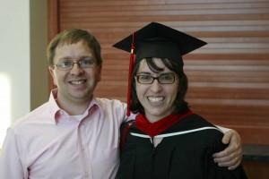 Bruce and I at my seminary graduation, June 2012.
