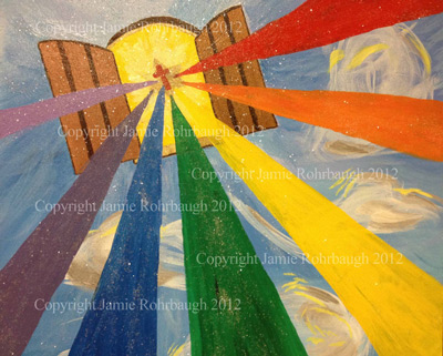 One New Man prophetic art: Jew and Gentile