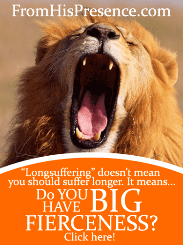 "Do You Have Big Fierceness? The real meaning of ""Longsuffering"" by Jamie Rohrbaugh 