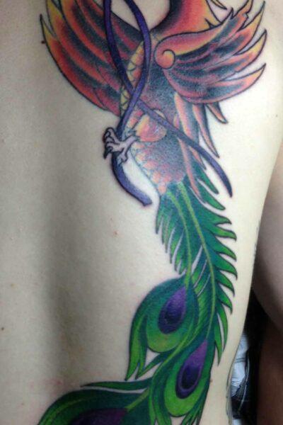 phoenix tattoo interpretation