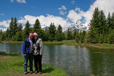 Grand Tetons National Park Schwabacher Landing in June