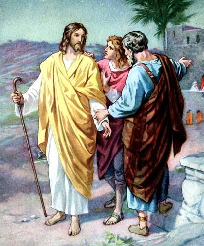Jesus road to Emmaus