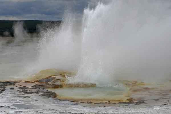 Yellowstone favorite geyser