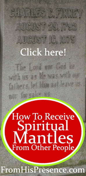 How To Receive Spiritual Mantles From Other People