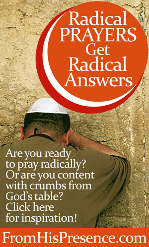Are you ready to pray radical prayers so you can see some radical answers? Read this! | By Jamie Rohrbaugh FromHisPresence.com