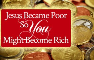 Jesus Became Poor So You Might Become Rich | Radical sample prayer by Jamie Rohrbaugh | FromHisPresence.com