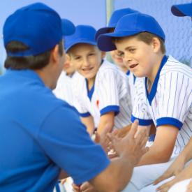 Coach baseball