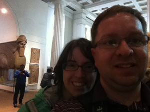 Jamie-and-Bruce-at-British-Museum