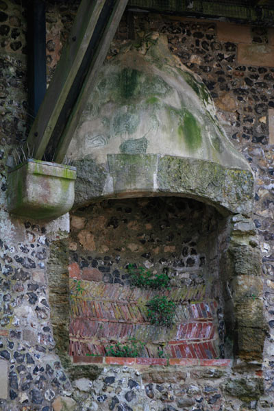 Arundel Castle Keep fireplace