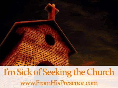 Sick of seeking the church. Image courtesy of Salvatore Vuono / freedigitalphotos.net