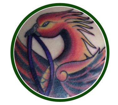 Phoenix-tattoo-button