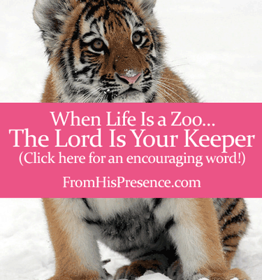 When Life Is a Zoo, the Lord Is Your Keeper