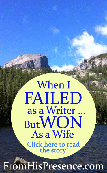 When I Failed As a Writer But Won As a Wife
