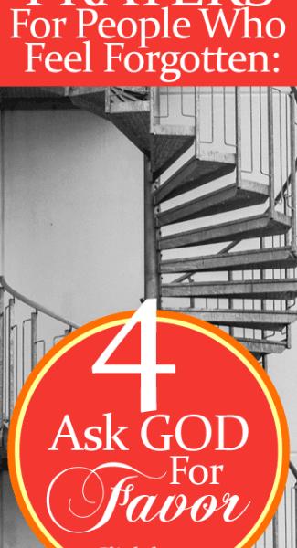 Prayer #4: Ask God For Favor