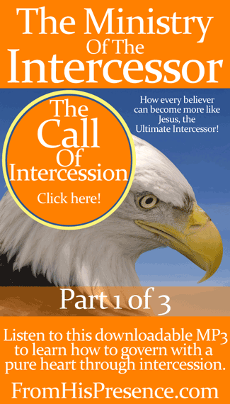 The Ministry of the Intercessor, Part 1 of 3: The Call Of Intercession downloadable mp3 by Jamie Rohrbaugh | FromHisPresence.com