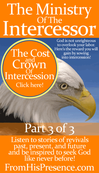 "Listen to stories of revivals past, present, and future in ""The Cost And Crown Of Intercession."" You'll be inspired by the cost and the reward of intercession! 
