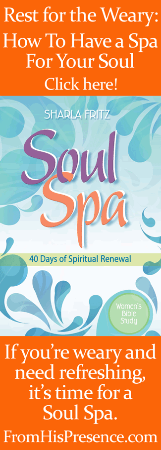 How To Have a Soul Spa: A Week of Rest For the Weary by Jamie Rohrbaugh | FromHisPresence.com