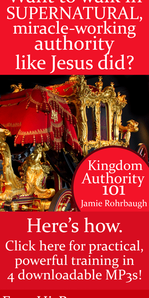 Kingdom Authority 101 workshop live recordings! by Jamie Rohrbaugh | FromHisPresence.com