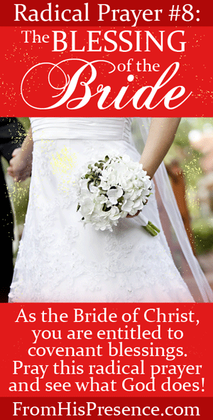 Radical Prayer #8: The Blessing of the Bride | By Jamie Rohrbaugh | FromHisPresence.com
