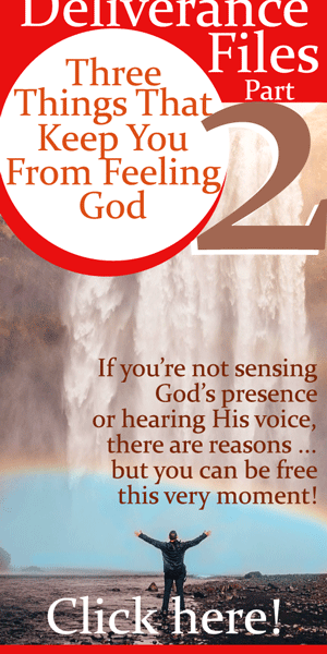 3 Things That Keep You From Feeling God | By Jamie Rohrbaugh | FromHisPresence.com