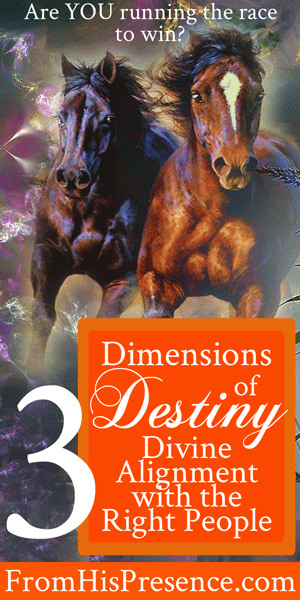 Dimensions of Destiny: Divine Alignment with the Right People by Jamie Rohrbaugh | FromHisPresence.com