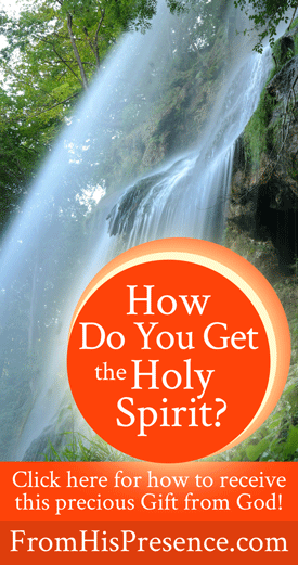 How Do You Get the Holy Spirit? by Jamie Rohrbaugh | FromHisPresence.com