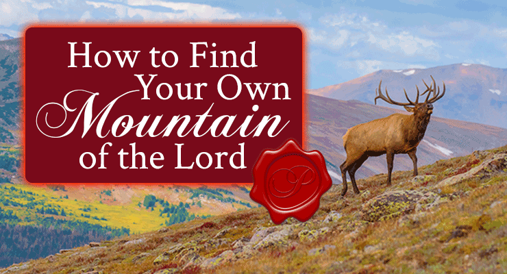 How to Find Your Own Mountain of the Lord   by Jamie Rohrbaugh   FromHisPresence.com