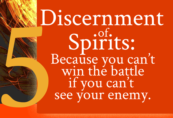 9 Power Gifts of the Spirit: Discernment of Spirits - From