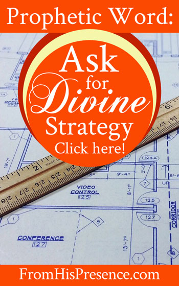 Prophetic Word: Ask for Divine Strategy | by Jamie Rohrbaugh | FromHisPresence.com