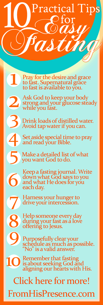10 practical tips for easy fasting | by Jamie Rohrbaugh