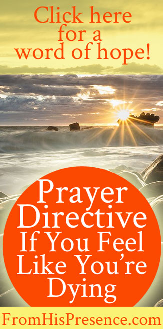 Prayer-Directive-If-You-Feel-Like-Youre-Dying