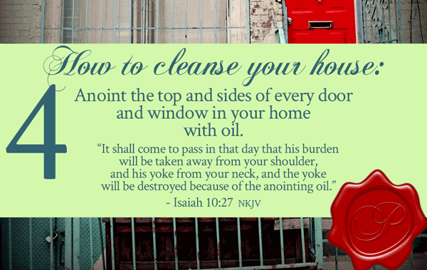 How To Cleanse Your House step 4 | by Jamie Rohrbaugh | FromHisPresence.com