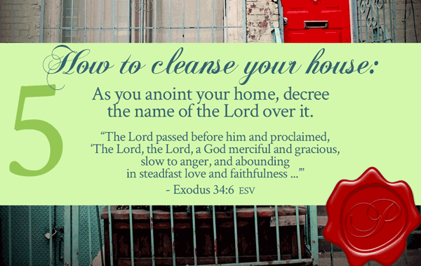 How To Cleanse Your House Step 5 | by Jamie Rohrbaugh | FromHisPresence.com