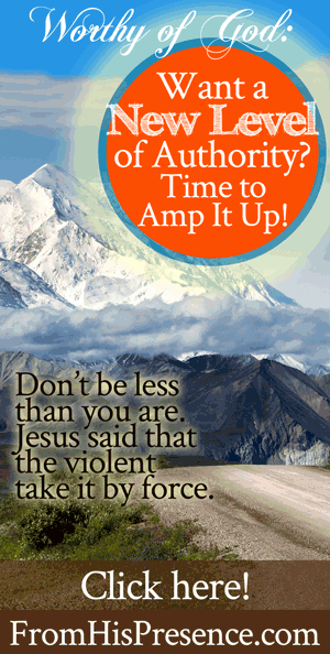 Want a New Level of Authority? Time to Amp It Up! | by Jamie Rohrbaugh | FromHisPresence.com
