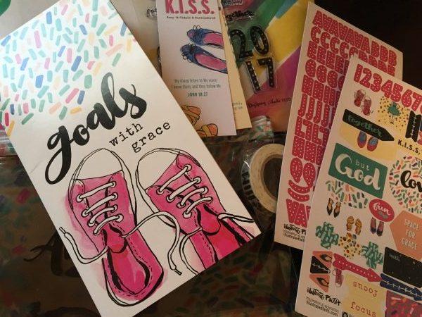 January Illustrated Faith Goals With Grace kit