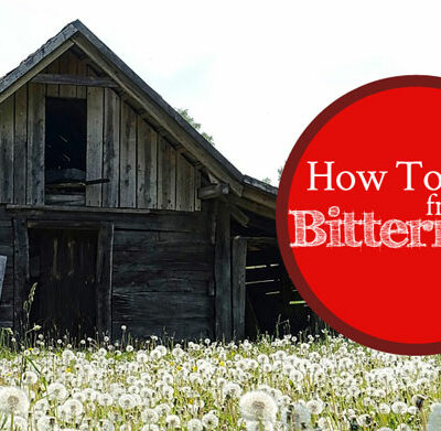 How To Heal From Bitterness | by Jamie Rohrbaugh | FromHisPresence.com