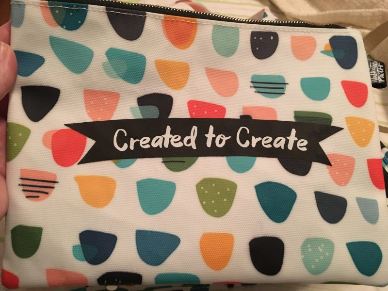 Illustrated Faith Created to Create kangaroo pouch