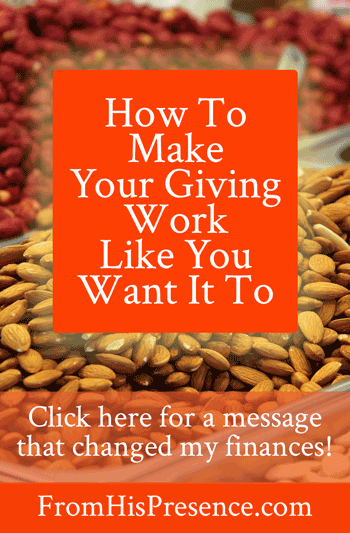 How To Make Your Giving Work Like You Want It To