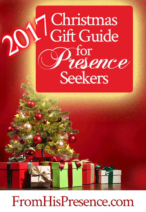 2017 Christmas gift guide for Presence seekers | by Jamie Rohrbaugh | FromHisPresence.com