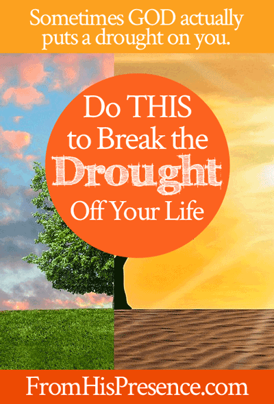Do This to Break the Drought Off Your Life | by Jamie Rohrbaugh | FromHisPresence.com