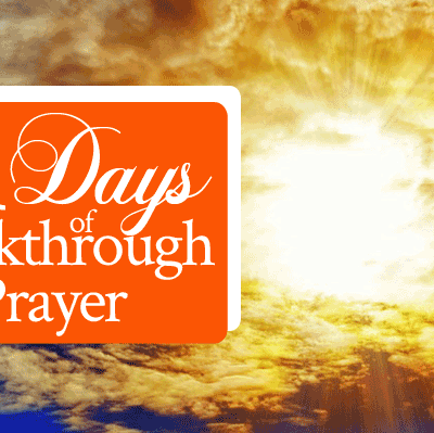 21 Days of Breakthrough Prayer | by Jamie Rohrbaugh | FromHisPresence.com