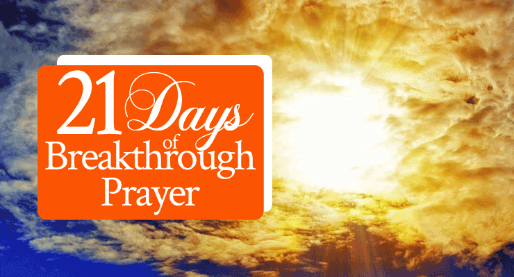 21 Days of Breakthrough Prayer, Day 1: Gates and Treasures - From