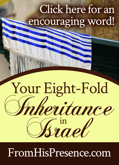 Your Eight-Fold Inheritance in Israel | by Jamie Rohrbaugh | FromHisPresence.com