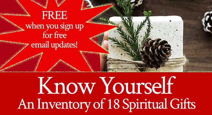 FREE Spiritual Gifts Inventory!