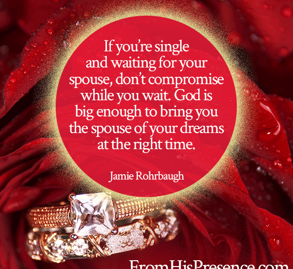 Pray this Prayer to Find a Husband or Wife | by Jamie Rohrbaugh | FromHisPresence.com | Sample prayer for singles who desire to be married