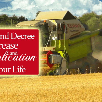 Declare and Decree Multiplication and Increase Into Your Life | by Jamie Rohrbaugh | FromHisPresence.com