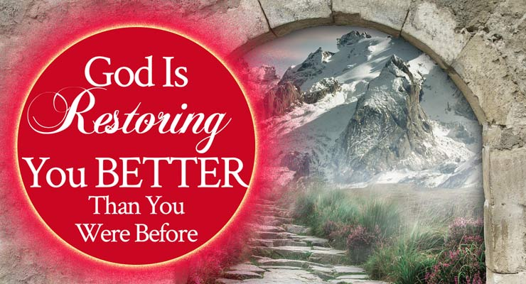 God Is Restoring You Better Than You Were Before | Prophetic Word by Jamie Rohrbaugh | FromHisPresence.com