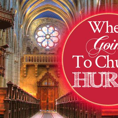 Healing from Church Wounds | When Going to Church Hurts | Healing from Church Wounds | by Jamie Rohrbaugh | FromHisPresence.com