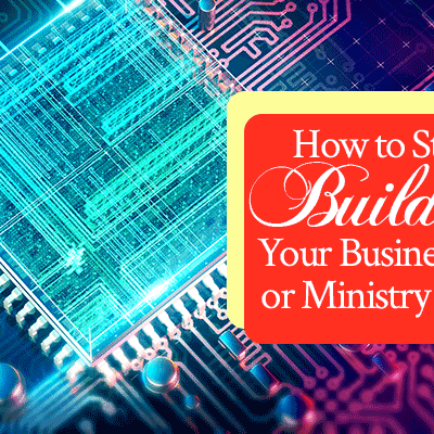 How to Start Building Your Business or Ministry Brand | FromHisPresence.com | by Jamie Rohrbaugh