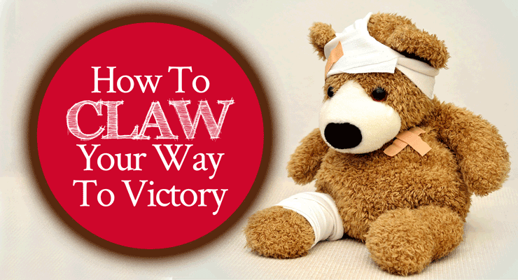 How to Claw Your Way to Victory | by Jamie Rohrbaugh | FromHisPresence.com